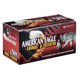 American Eagle American Eagle Varmint & Predator Centerfire Ammunition 17 Hornet 20 Grain Poly Tip