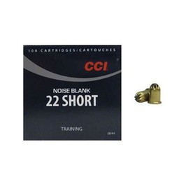 CCI CCI 22 Short Noise Blank Training (100 Rounds)