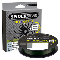 Spiderwire Spiderwire Ultracast x8 Ultimate Braid Moss Green 50 lbs