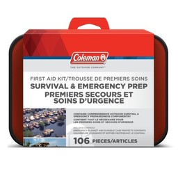 Coleman Survival and Emergency 128-Piece Prep Kit