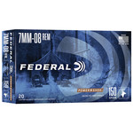 Federal Power-Shok  7mm-08 Rem. Jacketed Soft Point (20 Rounds) 150 Grain