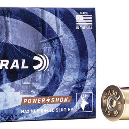"Federal Federal Power-Shok 16 Gauge 2 3/4""  Maximum Rifled Hollow Point Slug 4/5 oz"