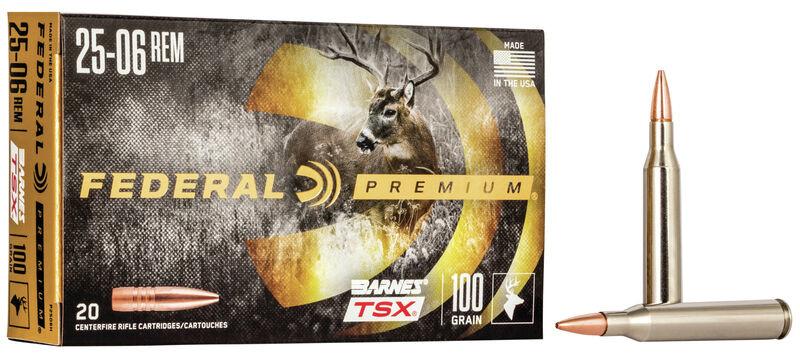 Federal Premium Federal Premium .25-06 Rem. Barnes TSX (20-Rounds)  100 Grain