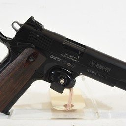 UHG-7012 USED GSG 1911-22 22LR Black Finish Wood Grips  2 Magazines