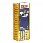 CCI Standard Velocity 22LR 40 Grain Lead Round Nose (100 Rounds)