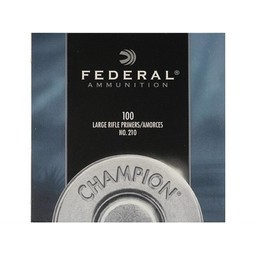 Federal Federal Large Rifle Primers No. 210 (1000-Count)