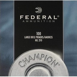 Federal Federal Large Rifle Primers No. 210 (100-Count)
