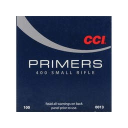 CCI CCI Small Rifle Primers No. 400 (100-Count)