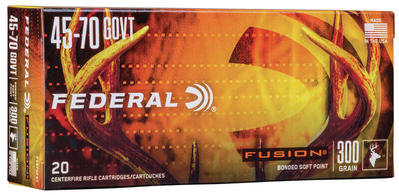 Federal Fusion Federal Fusion 45-70 Gov't 300 Grain (20 Rounds)