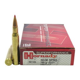 Hornady Hornady Superformance (20 Rounds) .30-06 Springfield 165 Grain SST