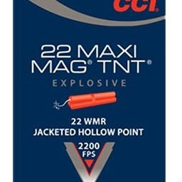 CCI CCI 22 WMR Maxi-Mag TNT 30 Grain Hollow Point (50 Rounds)