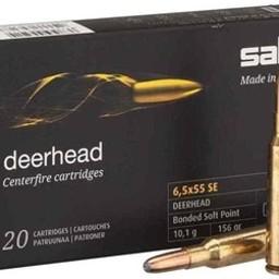 Sako Sako Deerhead 6.5x55SE 156 Grain ( 20 Cartridges)