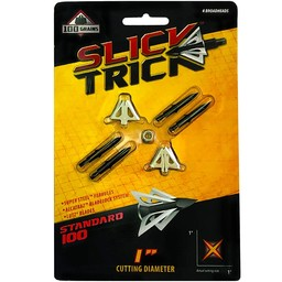 "Slick Trick Standard 100 1"" Broadheads (4-Pack)"