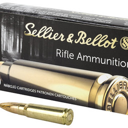 Sellier and Bellot Sellier & Bellot 7.62x39 124 Grain FMJ (20 Rounds)