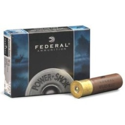 "Federal Federal Power-Shok 10 Gauge 3 1/2"" 1 3/4oz. Magnum Rifled Slug HP (5 Rounds)"