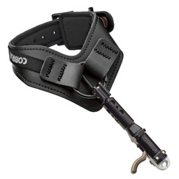 Cobra Archery Trophy Premier Series Double Caliper Release Triple Joint  Black