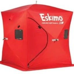 "Eskimo Eskimo Quickfish 3-Person Pop-Up Ice Hut 70""x70"""