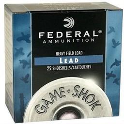 "Federal Federal Game-Shok 20 Gauge 2 3/4"" Shot #6 (25 Rounds)"