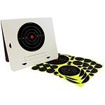 Birchwood Casey Shoot-N-C Deluxe Target Kit  (4 Pack w/ Easy-to-Assemble Frame)