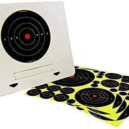 Birchwood Casey Birchwood Casey Shot-N-C Deluxe Target Kit  (4 Pack w/ Easy-to-Assemble Frame)