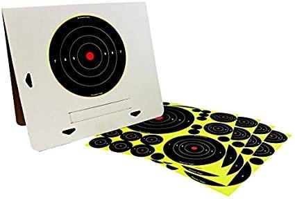 Birchwood Casey Birchwood Casey Shoot-N-C Deluxe Target Kit  (4 Pack w/ Easy-to-Assemble Frame)