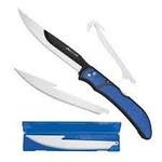 Outdoor Edge Razorfin  4 Extra Blades Blue