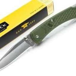 Buck Knives Buck Knives Slim Hunter Select OD Green