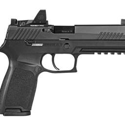"Sig Sauer 320 9mm 4.7"" Barrel Black w/ Romeo 1 Pro Red Dot 2-10 Round Magazines"