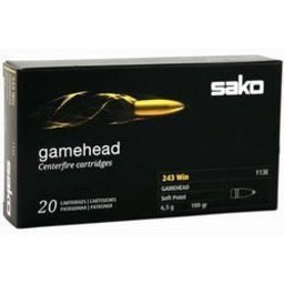 Sako Sako Gamehead Centerfire Ammunition (20 Rounds)