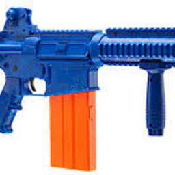 Umarex Umarex Rext Opfour Co2 Rifle Dart Launcher 85 FPS Blue