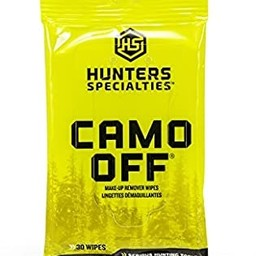 Hunter's Specialties Camo Off Make-Up Remover Wipes