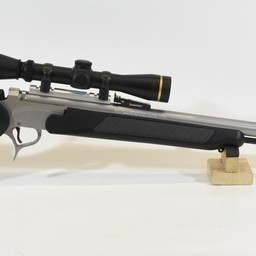 CG-0048 Thompson Center Encore 50 Cal Black Synthetic/Stainless w/ Leupold Ultimateslam Scope