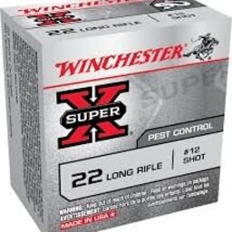 Winchester Winchester Super X 22 LR #12 Shot Pest Control