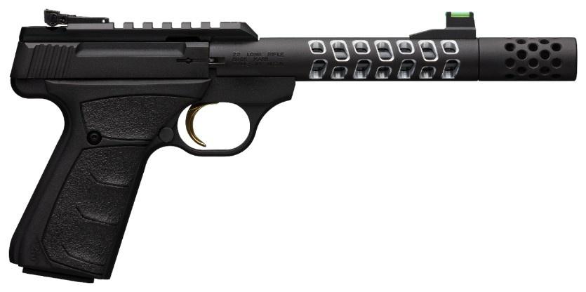 """Browning Browning Buck Mark Plus Vision 22 LR UFX 5.9"""" Barrel Black"""