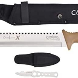 """Camillus Camilus 18"""" Titanium Bonded Carnivore X Manchette"""