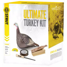 Hunter's Specialties Strut Ultimate Turkey Kit Decoy and Calls
