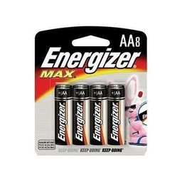 Energizer AA Batteries (8-Pack)