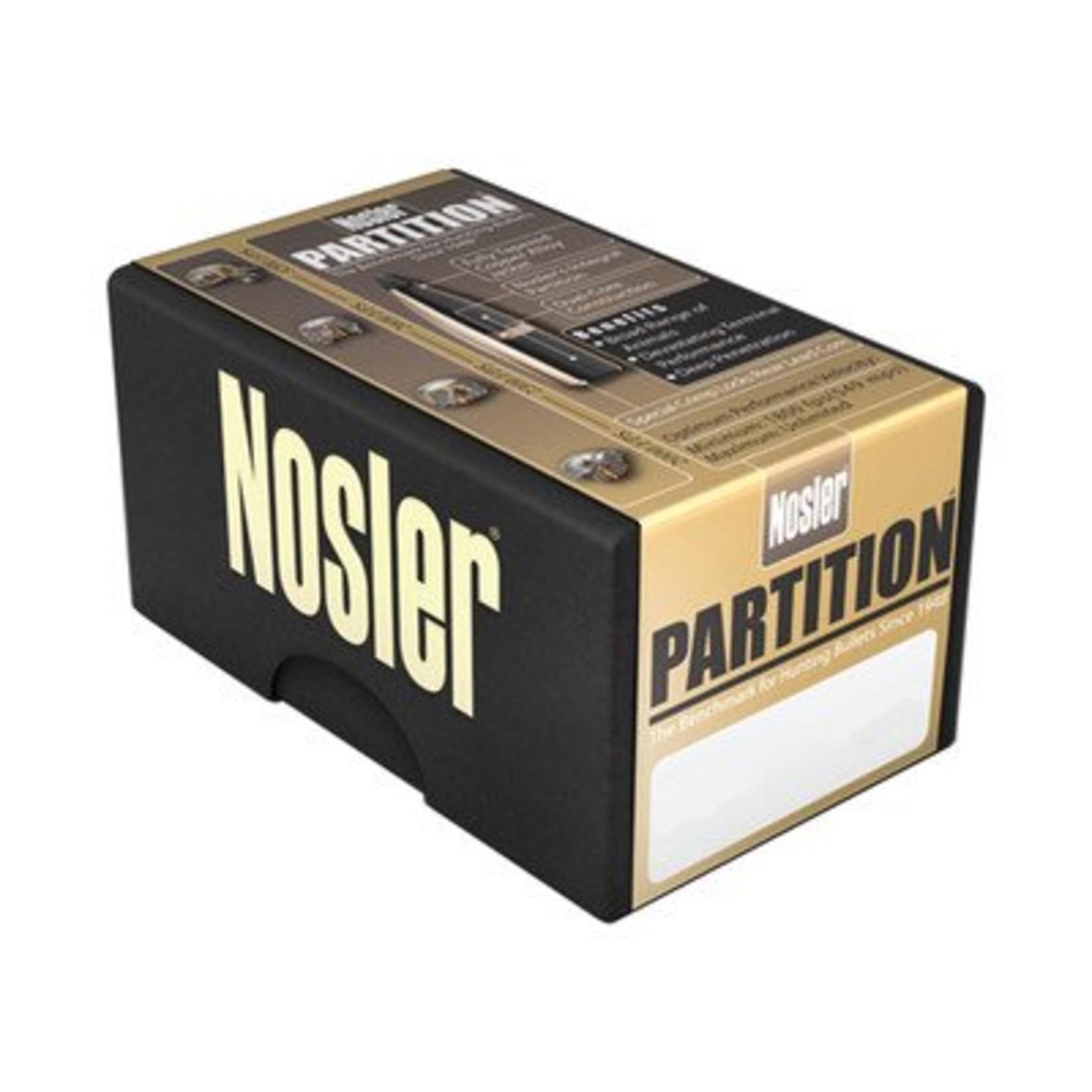 Nosler Partition Bullets (50-Count)