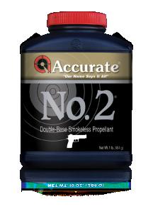 Accurate Western Handgun Powders 1lb Brown No. 2
