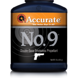 Accurate Western Handgun Powders 1lb Orange No. 9