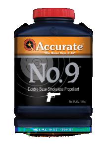 Accurate Western Handgun Powders 1lb Orange No. 9