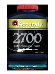 Accurate Western Rifle Powders 1lb Yellow 2700
