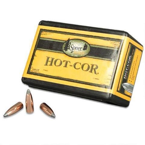 Speer Bullets Hot-Cor (100-Count)