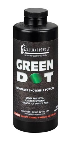 Alliant Powder 1lb Green Dot Shotshell