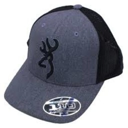 Browning Browning Realm Charcoal Cap 3D Logo w/ Mesh Back