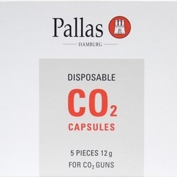 Pallas Pallas Disposable Co2 Capsules 12g (5-Pack)