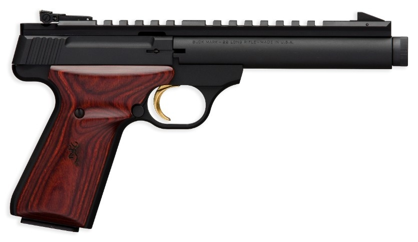 "Browning Browning Field Target 22LR 5.9"" Barrel Rosewood Grip Suppressor Ready"
