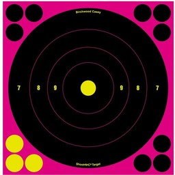 Birchwood Casey Birchwood Casey Shoot-N-C Reactive Targets 30-Pack & 360 Repair Stickers