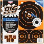 "Birchwood Casey Big Burst Adhesive Bullseye Targets 3-12"""