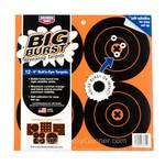 "Birchwood Casey Big Burst Revealing Adhesive Targets 12-6"" Bulls Eye Targets"
